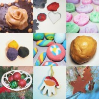 A collection of salt dough ideas