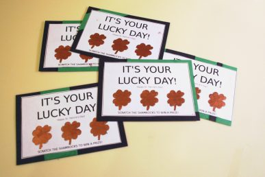 Homemade Lottery Tickets | CraftPenguin.com