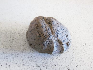 Coffee dough