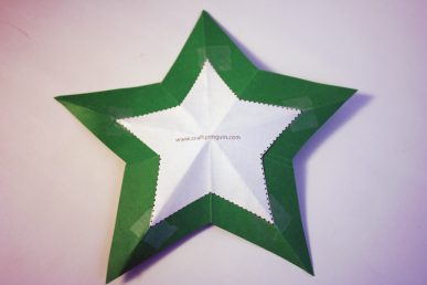 The folded star