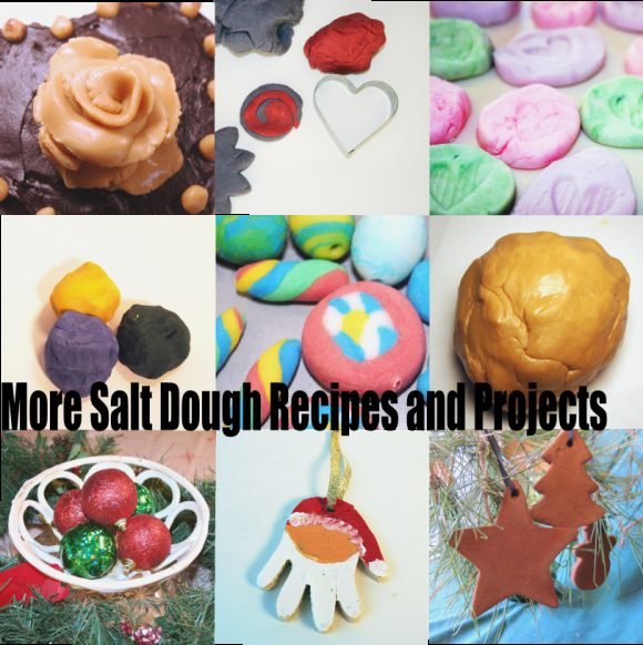 Link to other salt dough recipes and projects