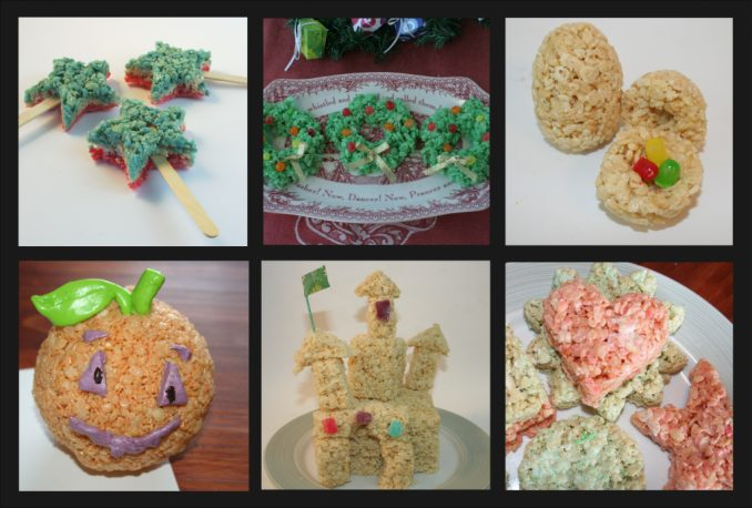 Link to other rice krispy projects